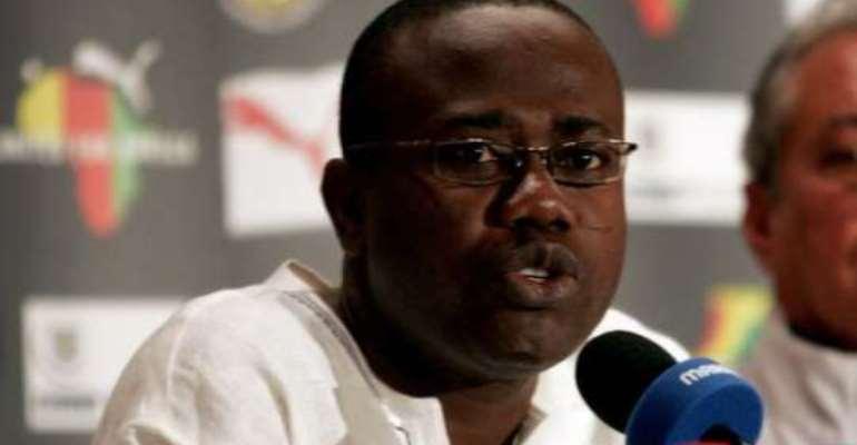 MOYS congratulates Kwesi Nyantakyi