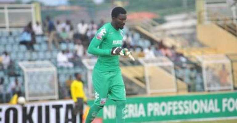Nana Bonsu: Ghana goalie eyes historic league title win with Enugu Rangers
