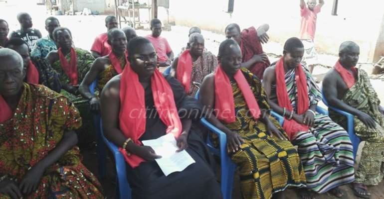 Construction starts on deplorable Ho roads after chiefs' protest