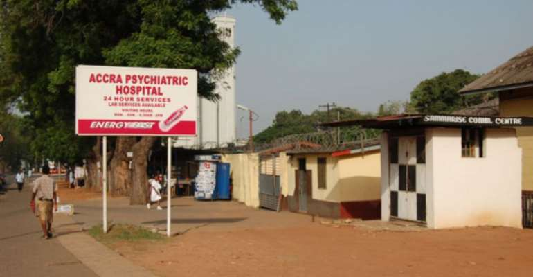 We don't even have A-4 sheets – Accra Psychiatric Hospital laments