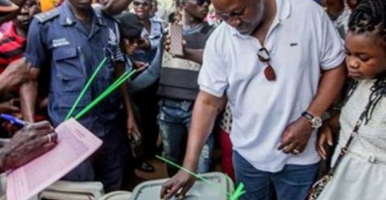 Former President Mahama Eligible To Vote In GJA Election