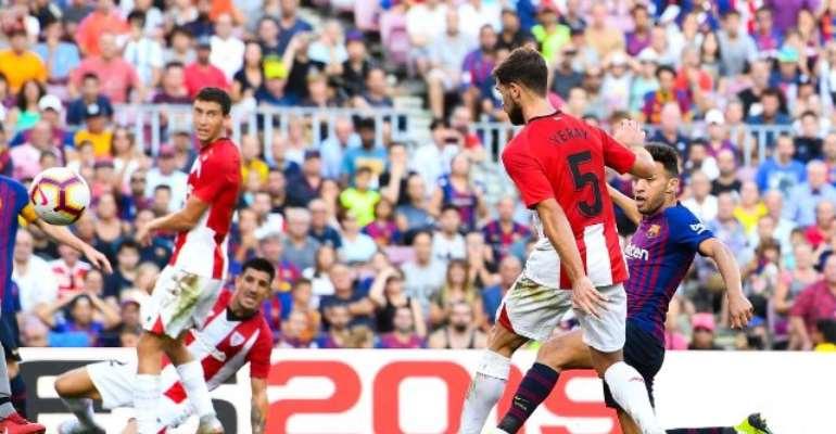 Munir El Haddadi earned Barcelona a point (Image: Getty Images Europe)