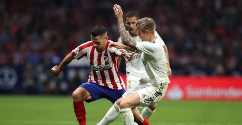 Real Madrid Stay Top After Madrid Derby Draw
