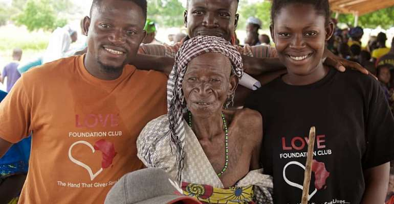 Love Foundation Club Takes It Nationwide Educational Support Tour To Zambulkura In The North East Region