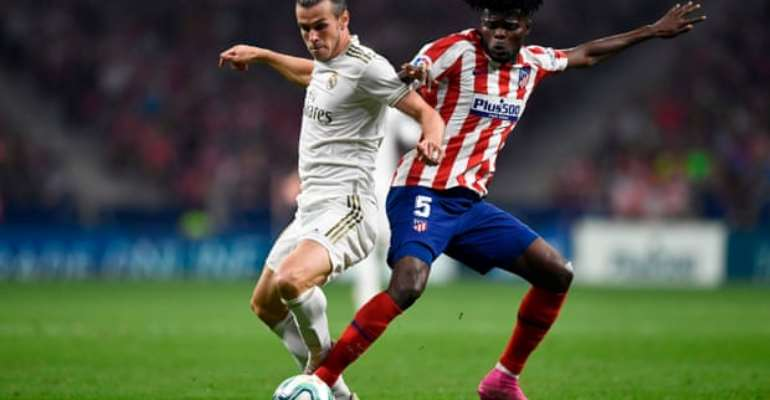 Thomas Partey Stars Atletico Madrid Hold Neighbors Real Madrid In Goalless Madrid Derby