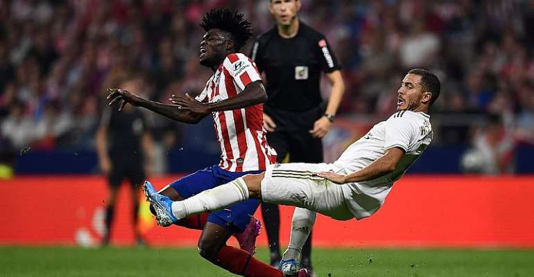 Ghana Star Thomas Partey Rated High In Goalless Madrid Derby