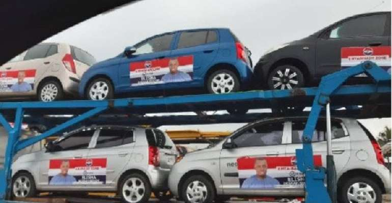 NPP Primaries: Defeated Candidate Takes Back Promised Cars