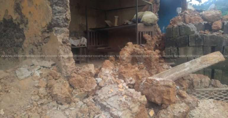 Dzorwulu: Building Collapse Kill Two, Six Others Injured