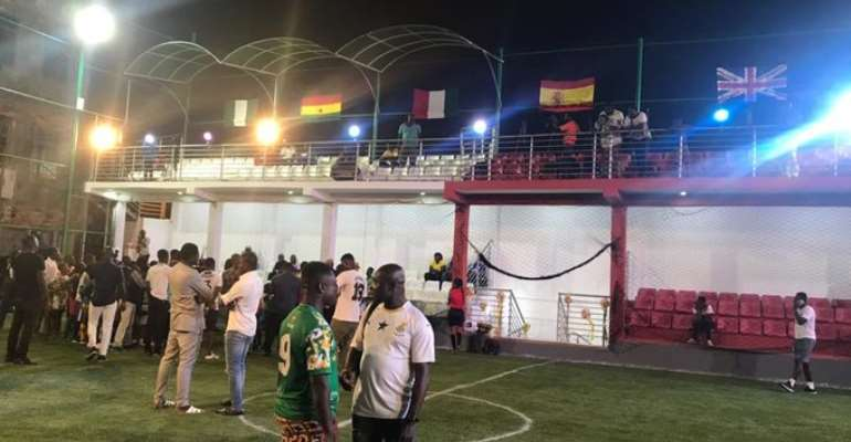 New Astro Turf Pitch In Nima Unveiled [PHOTOS]