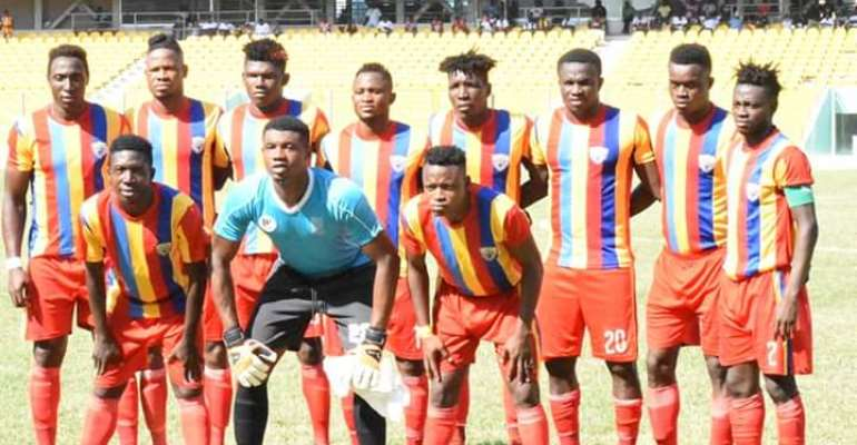 Match Report: Hearts Of Oak Record 2-1 Win Against Okwahu United In A Friendly