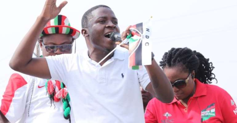 Election 2020: Edem Agbana Urges NDC Youth To Work Hard, Fight For Victory