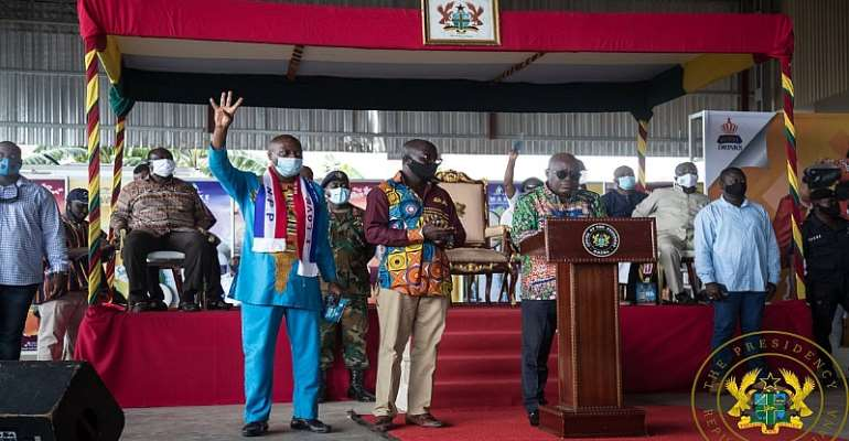 A/R: Akufo-Addo Commissions Kasapreko Water, Juice And Soft Drinks Factory At Kwadaso