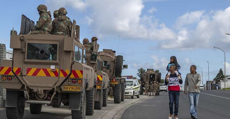 Some hard decisions need to be taken about the future of the South African National Defence Force - Source: Nic Bothma/EFE-EPA