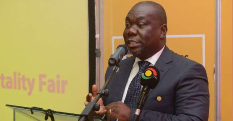 General Manager of MTN Business, Mr. Sam Addo