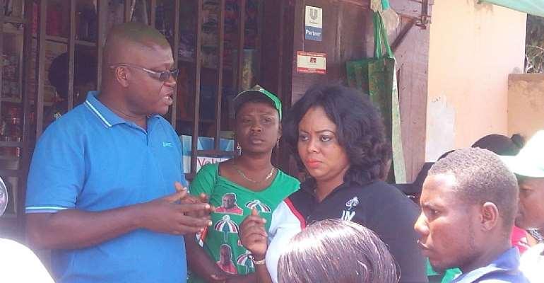 Benita Okitey Duah kickstarts campaign in Ledzkokuku