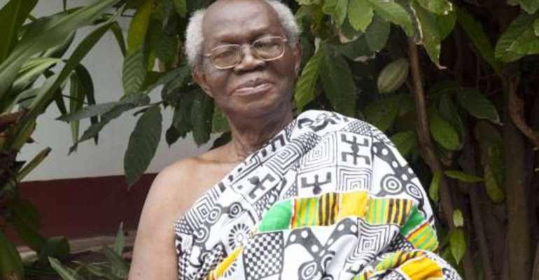 Asantehene Otumfuo Celebrates Emeritus Prof. Nketia