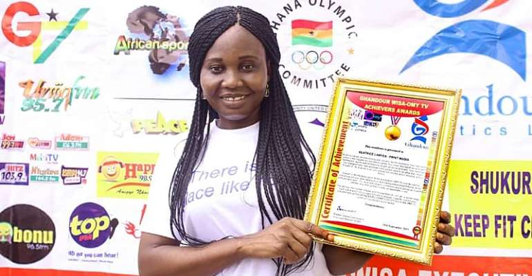 Let's Use Journalism To Affect Lives Positively – WISA Awardee Beatrice Laryea