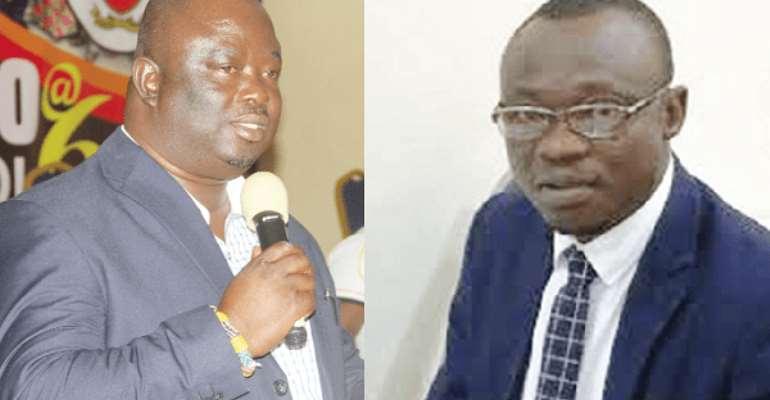 Mr Maxwell Blagodzi, Deputy Minister of Oti Region and Mr Emmanuel Asore Avoka, DCE for Garu both lost