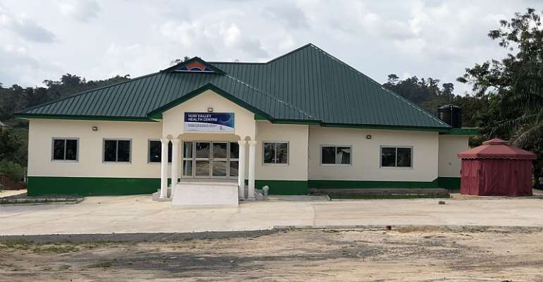 Huni-Valley Clinic, built by Gold Fields Damang MIne