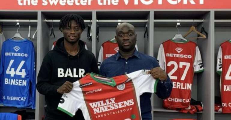 Ghana's Gideon Mensah Assists In League Debut for Zulte Wagerem