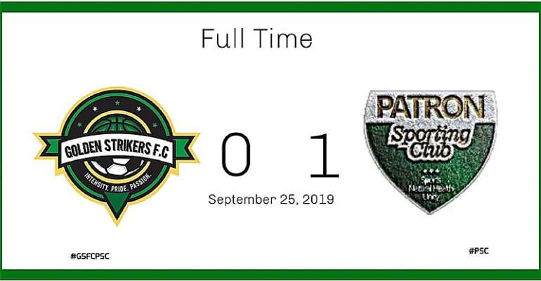 Patron Sporting Club Beats Golden Strikers FC In Local Derby