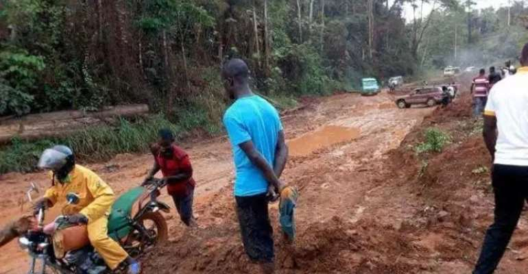 Bad Roads Affect Our Manhood — Bia West, East Residents