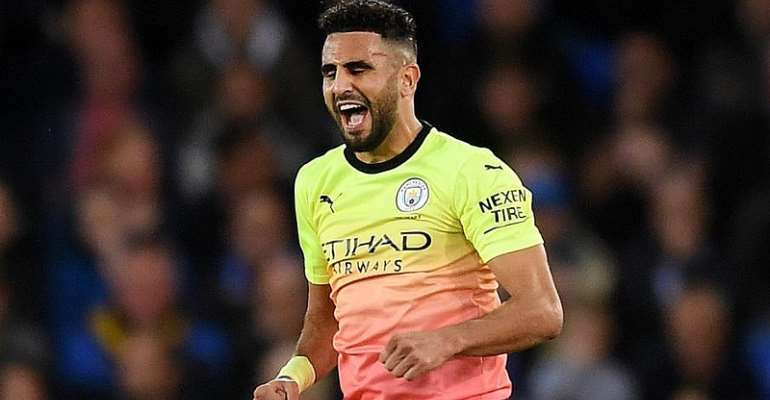 African Players In Europe: Mahrez Caps Superb Display With Goal