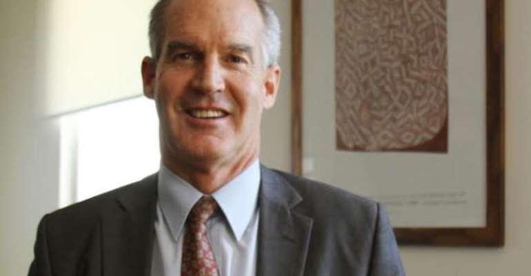 Australia's High Commissioner to Ghana, Mr Andrew Barnes