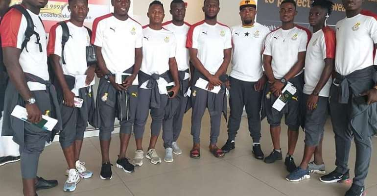 WAFU Cup: Black Stars B Arrive In Senegal Ahead Of Tourney Opener Against Gambia