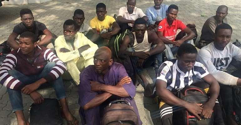 Kwaebibirem: 42 Illegal Miners Grabbed