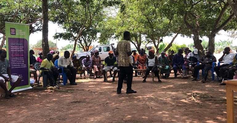 Ashanti Region: GSA Undertakes Market Sensitisation On Aflatoxins