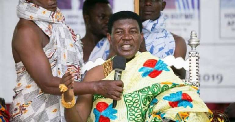 Omanhene Of Techiman Deserves To Be A Member Of Council Of State—Tuobodom DCE