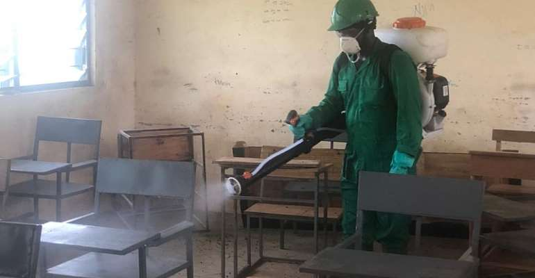 3rd Phase Of Disinfection Exercise: AssemblymanLauds Govt, Zoomlion