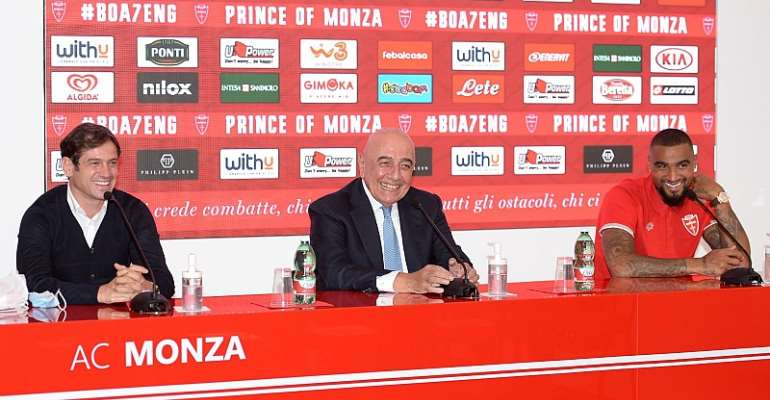 AC Monza Unveil Kevin Prince Boateng In A Grand Style [VIDEO]