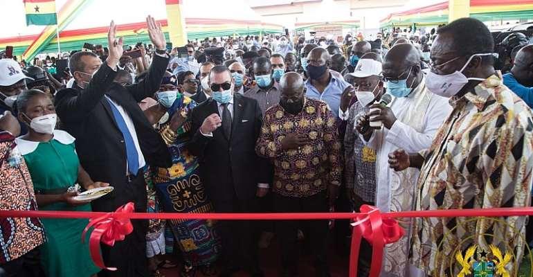 Akufo-Addo Commissions 60-bed Tepa hospital