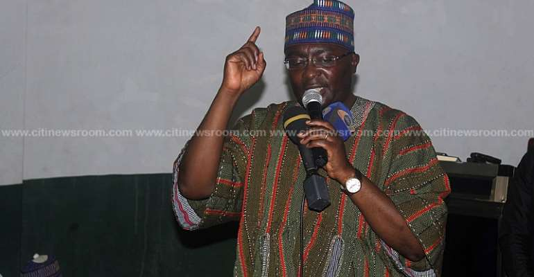 Akufo-Addo's Gov't Not Run By 'Family And Friends' – Bawumia