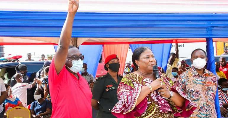 Vote Massively For NPP To Do More – First Lady To Ghanaians
