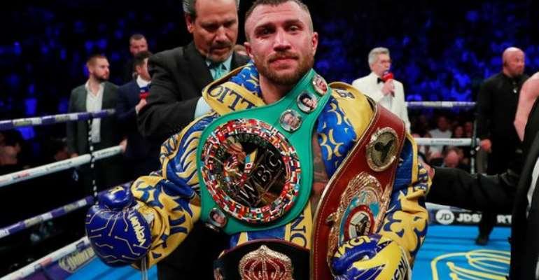 Vasyl Lomachenko Eyes Commey's IBF Title Belt
