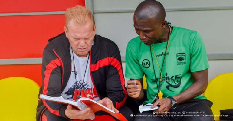 Kotoko Coach In Trouble For Fielding Unregistered Player Against Ashgold