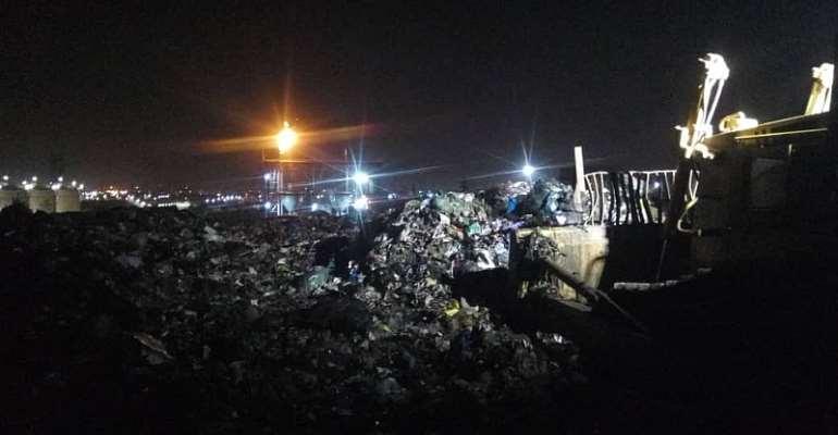 Nana Addo's Cleanest City Vision Risks Failure As Kpone, Gbalahi Landfills Et Al Pose Danger To Residents