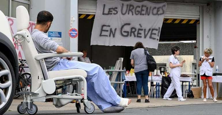 AFP Photos/Xavier Leoty