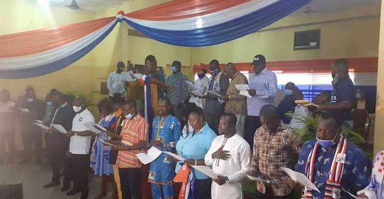 NPP Klottey Korle Inaugurates Campaign Team