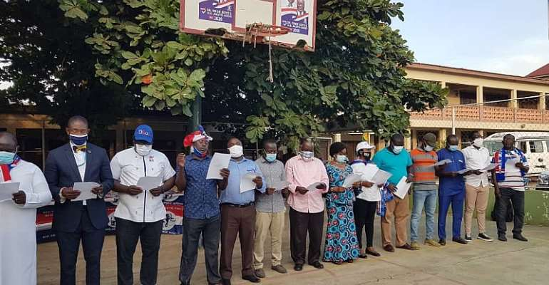 Ledzokuku Constituency: NPP Launches Campaign Team Ahead Of December Polls
