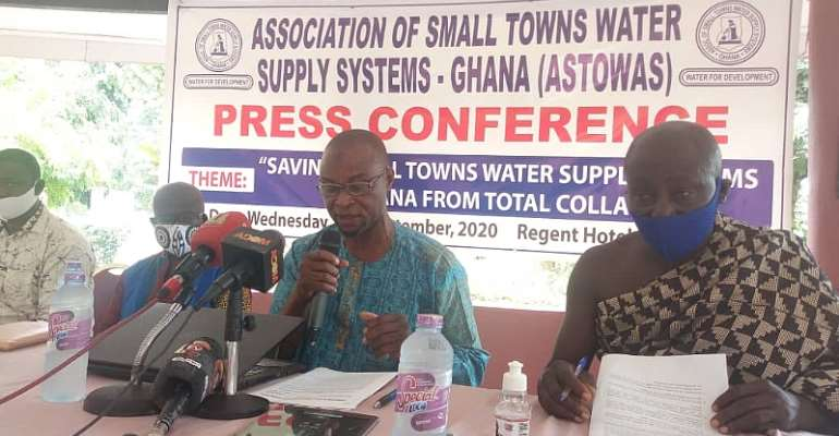 Association Of Small Towns Water Supply Systems Cry For Payment Of Water Bills