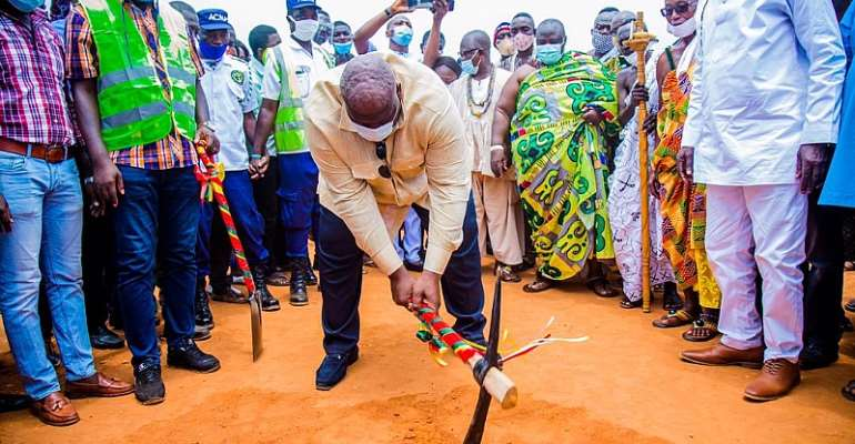 CODA Cuts Sod For The Construction Of 12-Unit Classroom Block At Ayawaso Central