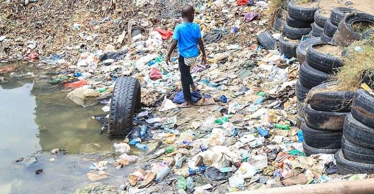 A dump in Tudor, Mombasa Kenya. (Photo Credit: Sustainable Inclusive Business)
