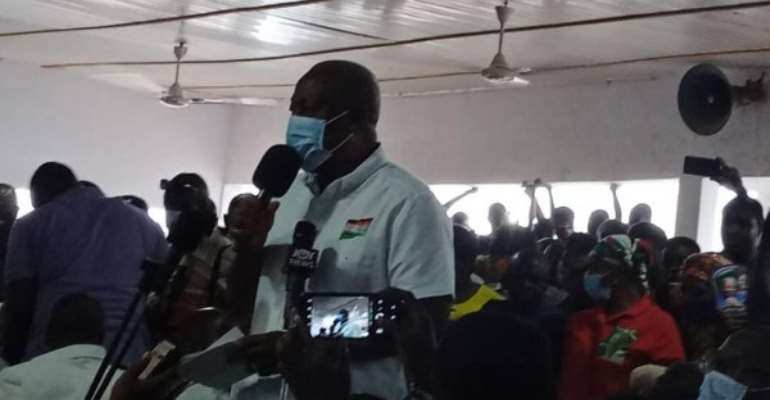 Mahama Promises PWDs More Pay