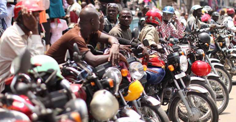Ashaiman: Over 2,000 Okada Riders Back Mahama's Promise To Legalise Business
