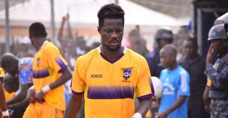Midfielder Richard Boadu