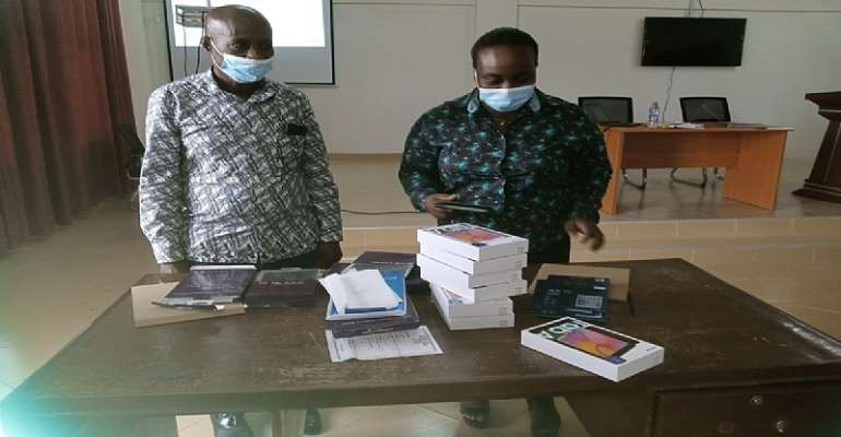 Offinso North receives tablets to train revenue collectors